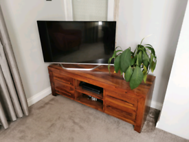 Sheesham TV unit/sideboard