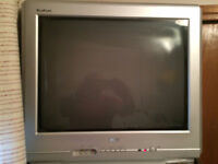Colour TV 21 inch CRT and VCR set $50.00