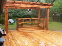 ***WE INSTALL DECKS, FENCES & RAILINGS. THE BEST DEALS IN TOWN**