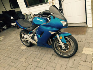 2007 Ninja 650R Great beginner bike