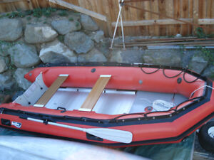 Achilles Inflatable Boat with Motor