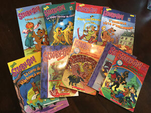 French Scooby Doo books