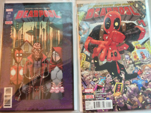 Deadpool Comic Collection 2015-2017