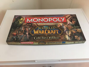 World of Warcraft Monopoly Collectors Edition