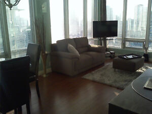DOWNTOWN Electra Furnished HUGE High Floor Luxury Suite!