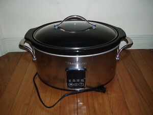 Moulinex Slow Cooker / Lean Mean Grill / Chefman Grill Panini