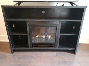 Electronic Fire place / Tv Stand