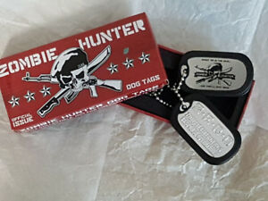 Zombie Hunter Dog Tags