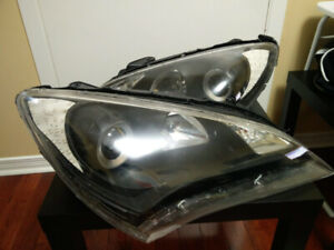 2010 Genesis Coupe Headlamps