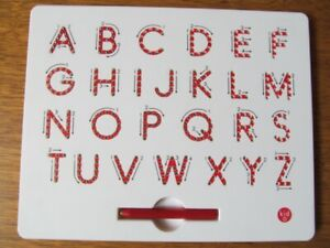 ALPHABET  A  to Z  MAGNATAB  UPPER  CASE  LETTERS  by  KID  O
