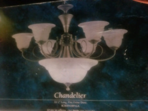 Chandelier Never used
