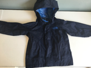 North Face toddler rain jacket