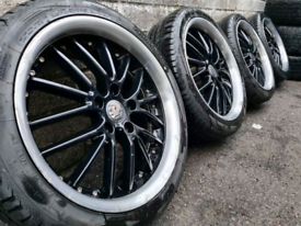 """17"""" RS tuning alloy wheels tyres 5x110 Vauxhall Astra Vectra Zafira"""