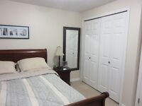BBEAUTIFUL VERY PRIVATE FURNISHED ROOM, NO SHARING  OCT 1ST