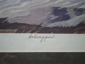 """A.J. Casson - """" Bobcaygon """" Limited Edition Print Kitchener / Waterloo Kitchener Area image 4"""