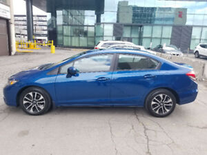 2015 Honda Civic EX - LIKE NEW - Lease takeover - 152.36 bi-week