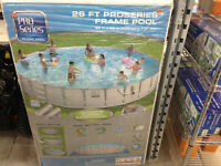 26 FT PRO SERIES FRAME POOL! ONLY $699.99!!
