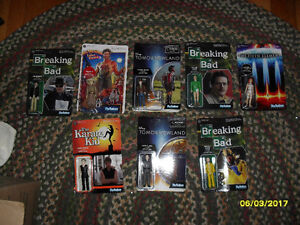 various action figures new in pkg