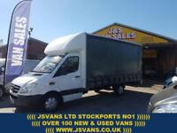 2010 60 MERCEDES-BENZ CURTAINSIDER EXTRA L.W.B LOW MLS AUTOMATIC OVER 1