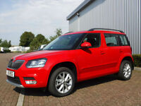 Skoda Yeti City Ambition 2.0 TDi 110 Left Hand Drive(LHD)