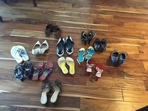 Free-Women's Summer Shoes and Sandals-size 9 Kitchener / Waterloo Kitchener Area image 1