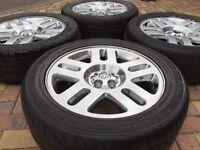 "Genuine 20"" Dodge Nitro Calibre Alloy wheels & 255/55/20 Continental Tyres 5x114.3"