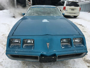 '79 Firebird Esprit - Blue