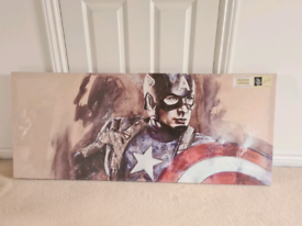 Marvel Captain America canvas - brand new
