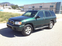 2002 Nissan Pathfinder 4X4 located in kelowna not Penticton