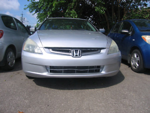 Honda Accord 2004, Safety and E. Test included