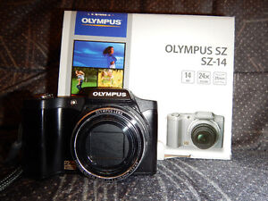 Digital camera/appareil photo numerique Olympus Model SZ-14