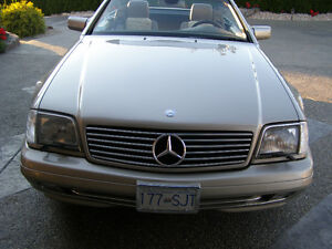 mercedes convertible sold privately and located in Coldstream bc