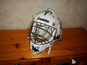 Masque de Gardien de But Hockey de Rue San Jose Sharks A Voir