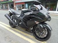 2016 16 Kawasaki ZZR1400 3507 miles three service stamps in the books