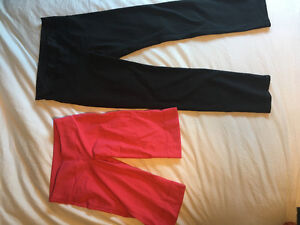 Lululemon tights and crops