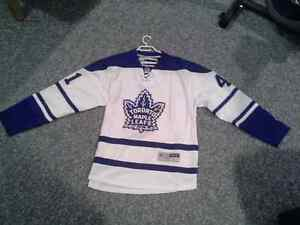 Leafs signed Kulimen signed mens lg Kitchener / Waterloo Kitchener Area image 2