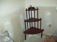Antique Whatnot Display stand