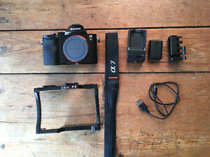 Ensemble Sony a7s + Cage Shape