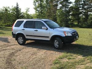 2004 Honda CRV AWD