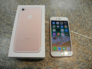 iPhone 7 128GB Rose Gold BELL