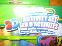 3D ART CHALK AND DESIGNS----NEW IN PACKAGE