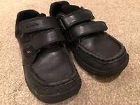 Clarks Boys' size 12 school shoes