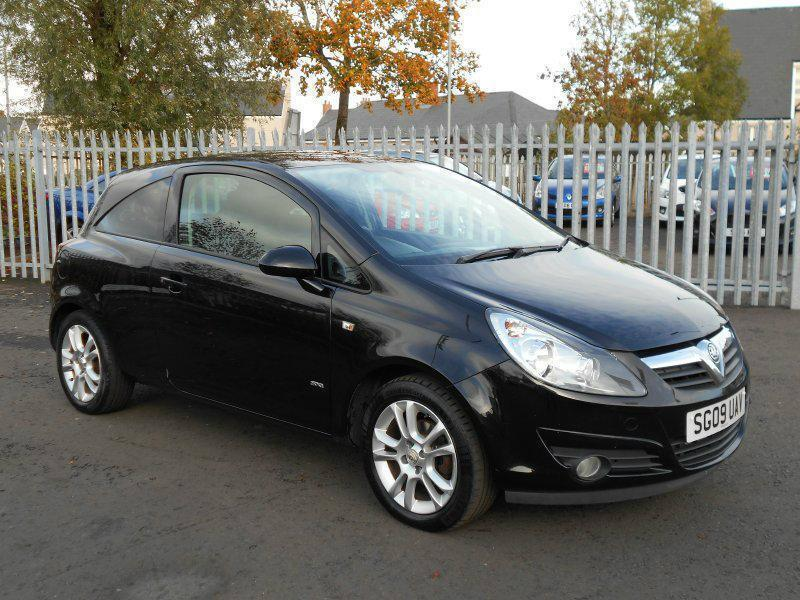 2009 vauxhall corsa 1 2 i 16v sxi 3dr in larkhall south. Black Bedroom Furniture Sets. Home Design Ideas