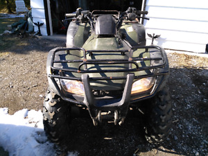 2005 Honda 4x4 400 with built-in GPS