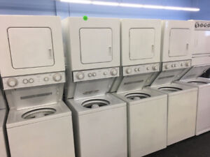 STACKED WHITE LAUNDRY CENTRE ON SALE UNTIL 18TH!