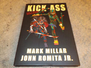 Kick-ass complete 1 2 3 and Hit Girl series 1 is hard cover TPB