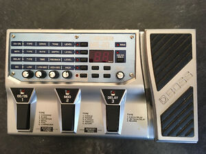 Boss ME 20 multi effects pedal
