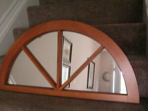SOLID MAPLE WOOD FRAMED MIRROR