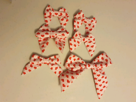 Dog accessories (bows for collars or topknots