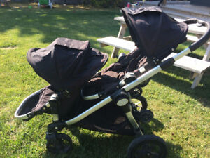 Baby Jogger - City Select - Double Stroller - Black